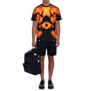 Givenchy Fire Print T Shirt